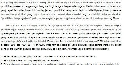 Pendidikan Indonesia Contoh Pidato Hari Pendidikan Nasional 2016
