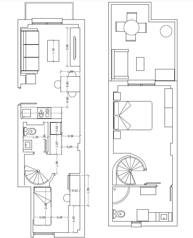 Arquitectura + Interiorismo: Cómo distribuir un salón-comedor?