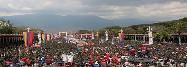 VÍDEO: Impactante - 1 millón de chavistas serán adiestrados en lucha armada por posible invasión