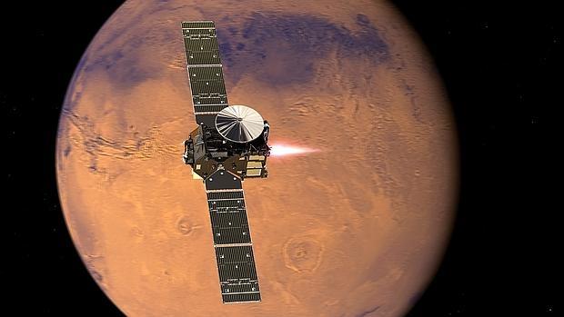 Europa vuelve a Marte.