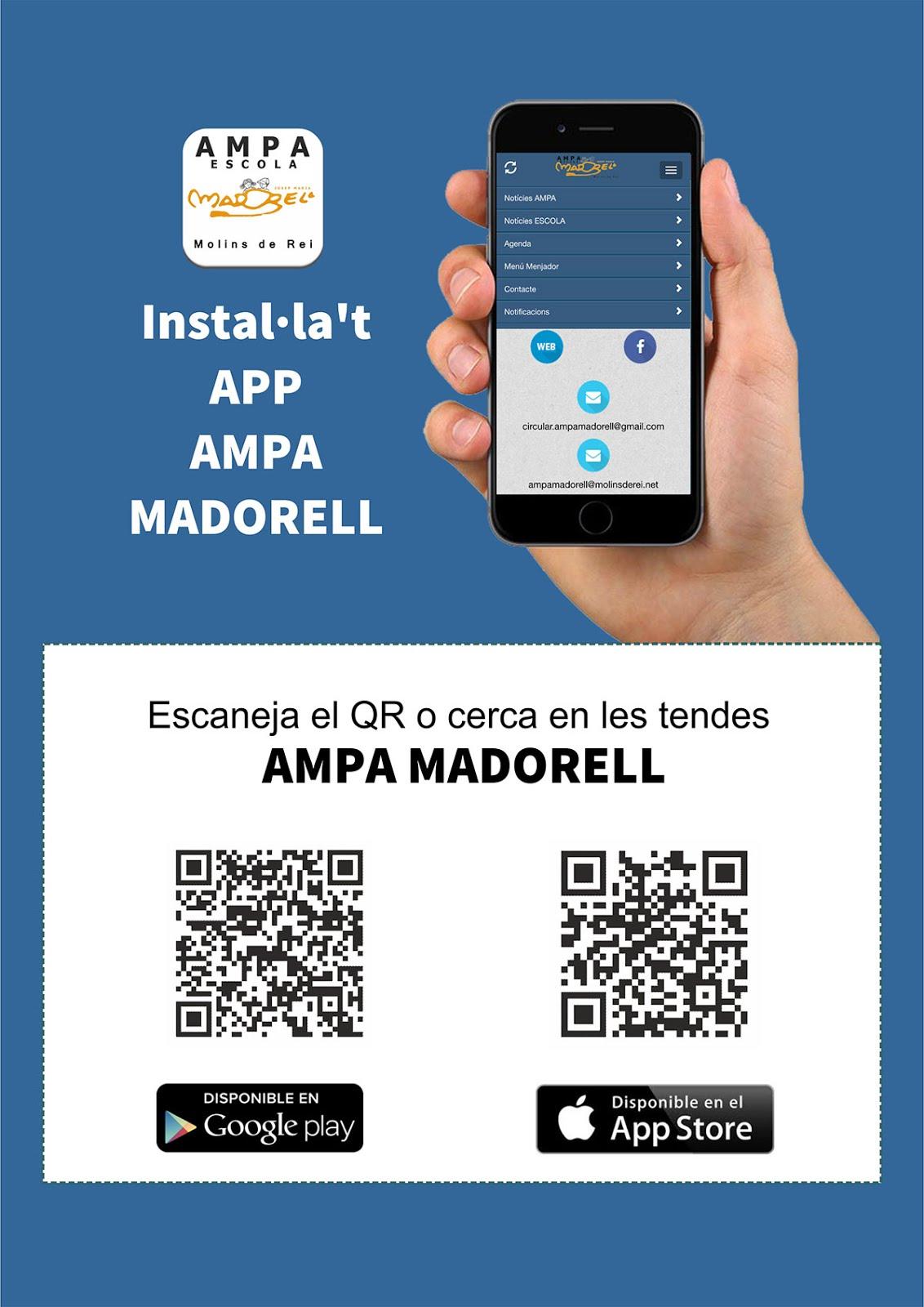 App AMPA MADORELL