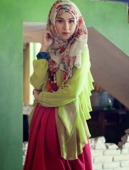 Model Hijab Ala Zaskia Adya Mecca World Style