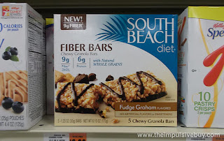 South Beach Diet Frudge Graham Bars