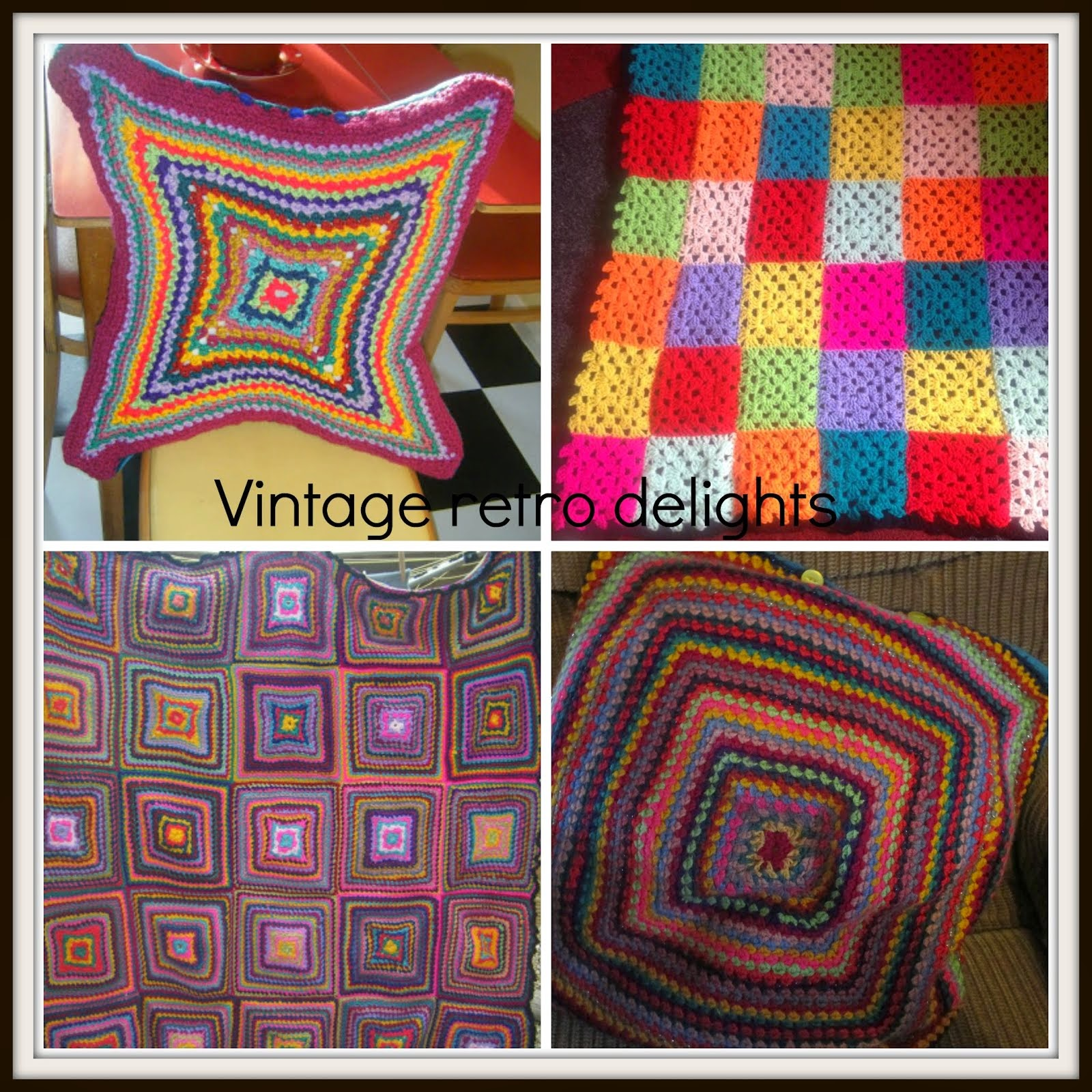 My favourite crochet projects
