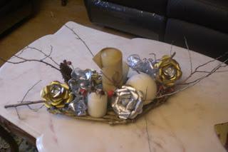 Decoración Navideña, Detalles Dorados.