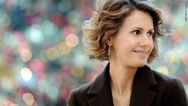 Asma Al-Assad: Call for peace in Syria
