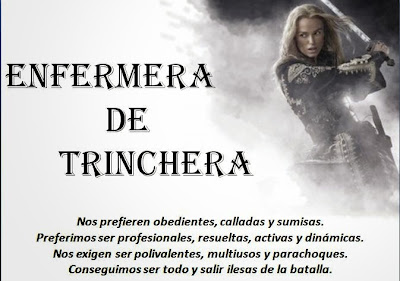 ENFERMERA DE TRINCHERA