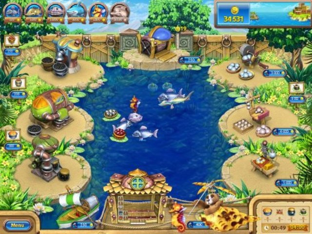 Farm Frenzy Gone Fishing Free Download