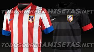 La nueva Camiseta del Atlético de Madrid 2012-2013