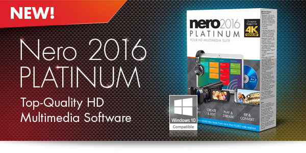 Nero 2016 Platinum 17.0.02000 Full Version