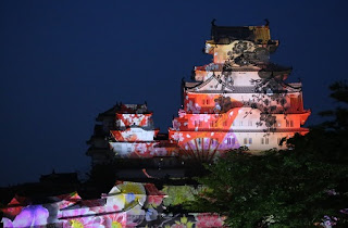 3D PROJECTION MAPPING SHOW at Himeji Castle