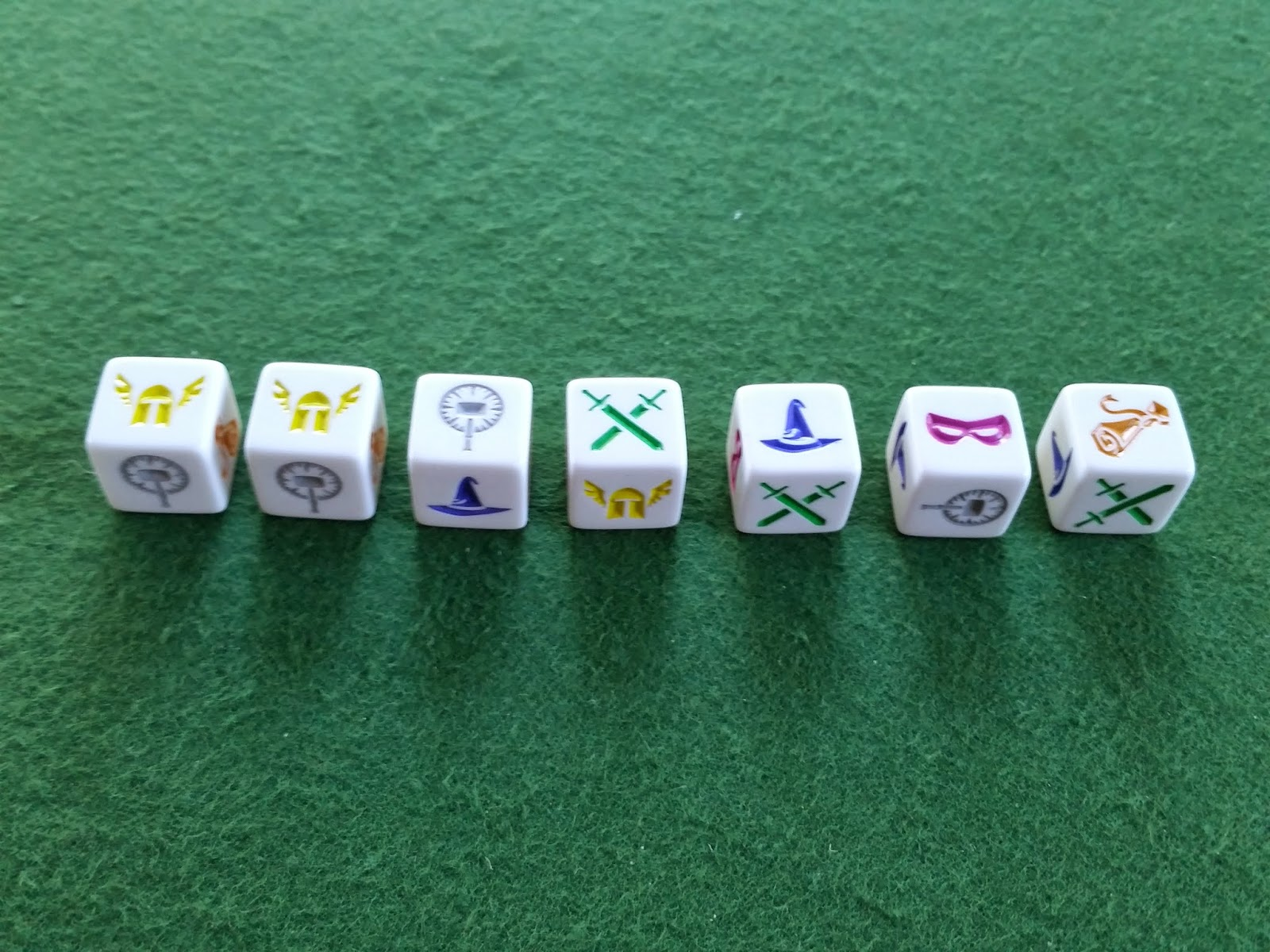 Dungeon Roll Party Dice