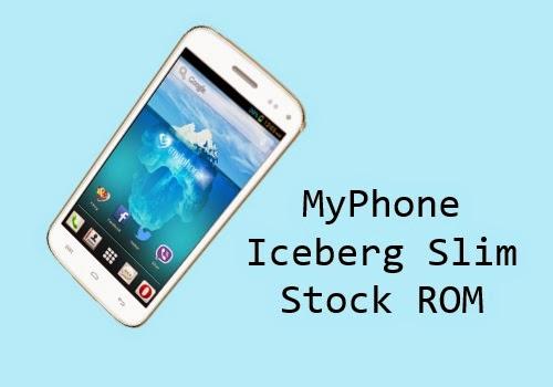 myphone iceberg slim stock rom