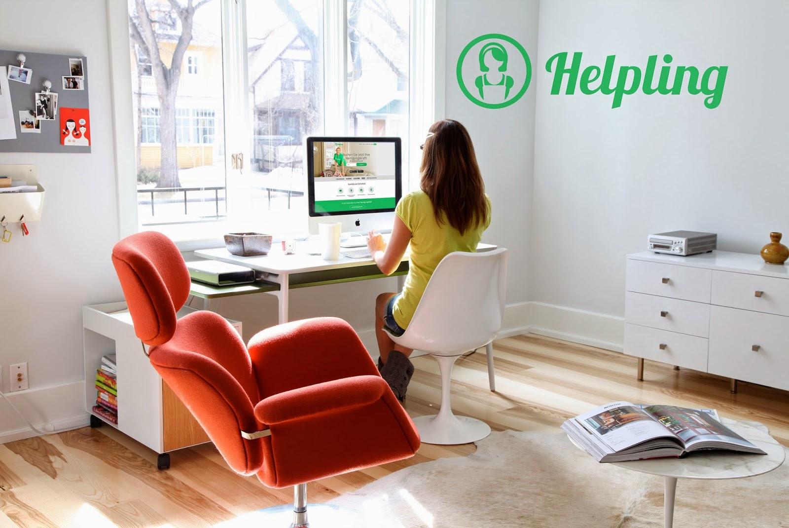Reserva tu limpieza con Helpling