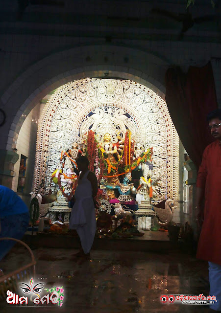 Ama Medha: Chandini Chowk, Cuttack Durga Medha 2015 - Photo By Ashutosh Tripathy