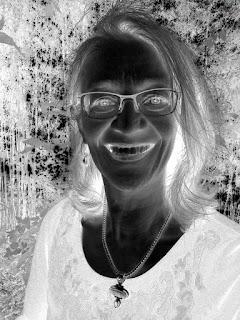 Sue Reno selfie negative
