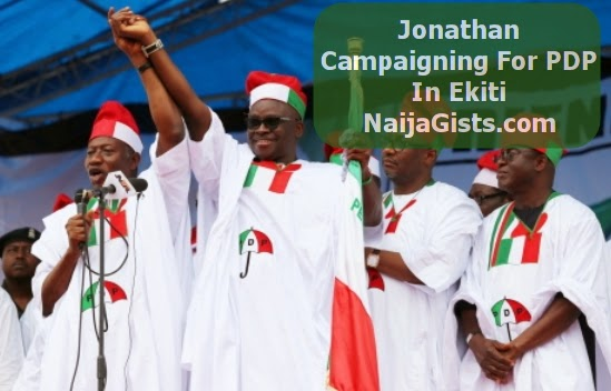 jonathan arrest apc members ekiti