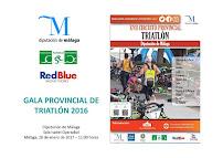 GALA DEL TRIATLÓN DE MÁLAGA 2016