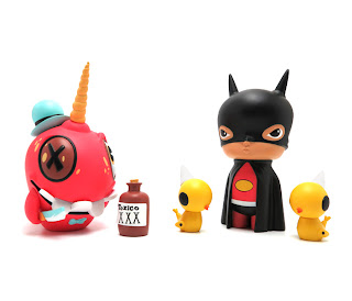 14 New vinyl toys by Kathie Olivas and Brandt Peters