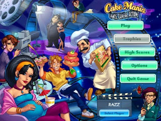 Cake Mania Lights Camera Action Baby Game
