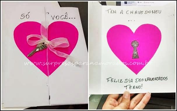 cartão fácil dia dos namorados