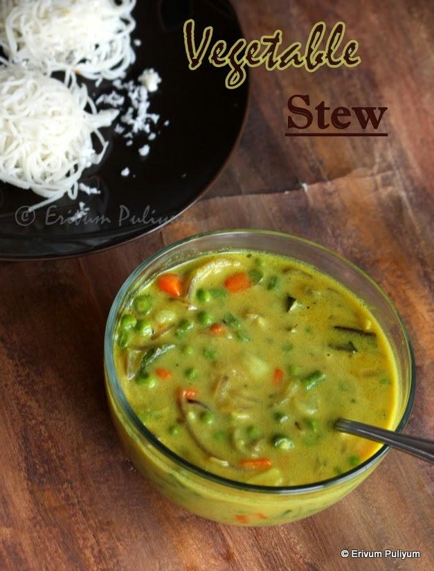 Vegetable Stew    Kerala Vegetable Ishtu   Breakfast Curries