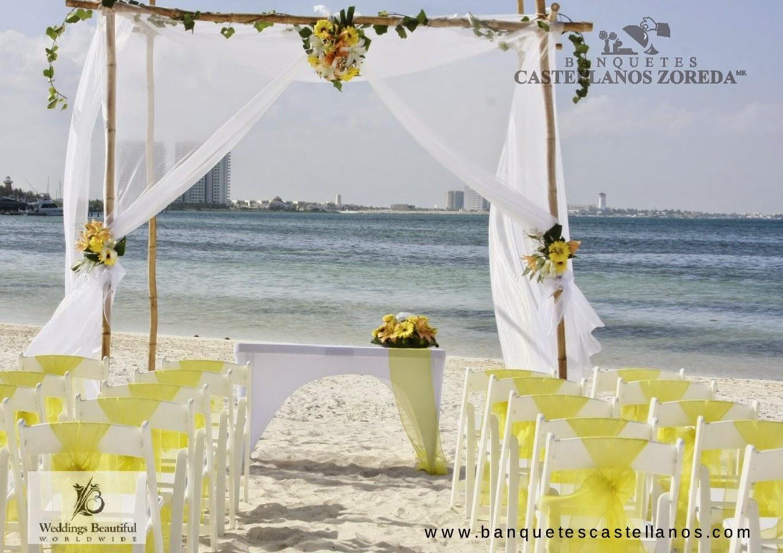 Cancun bodas y eventos decoraci n de bodas for Decoracion en cancun