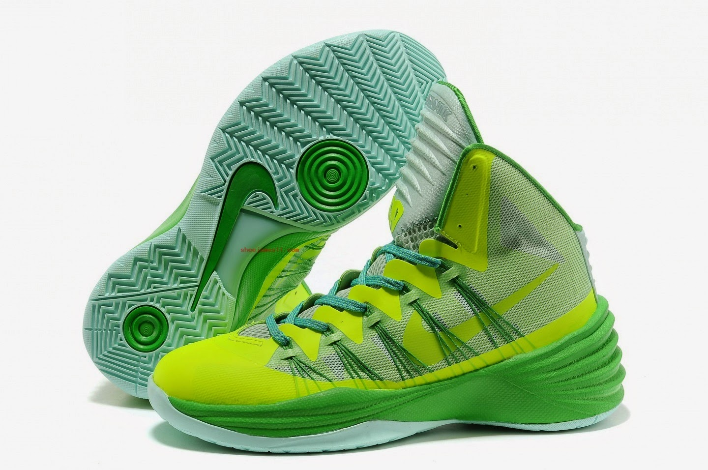 Pix For Bright Green Basketball Shoes