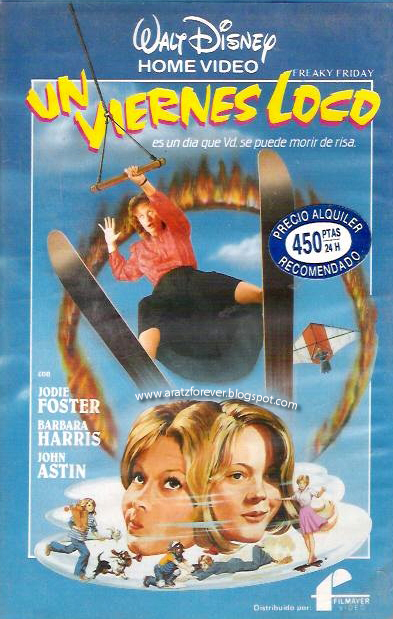 Un viernes loco, Disney, Jodie Foster