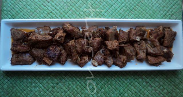 Costillas adobadas receta casera