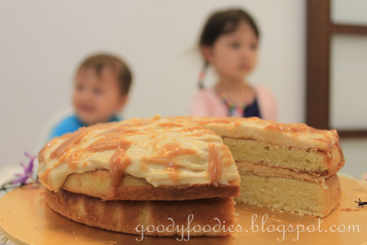 Nigella Butterscotch Layer Cake
