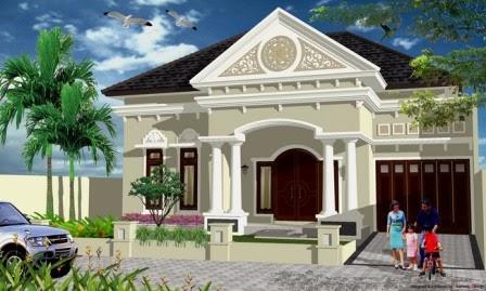 Gambar Desain Rumah Klasik Terbaru