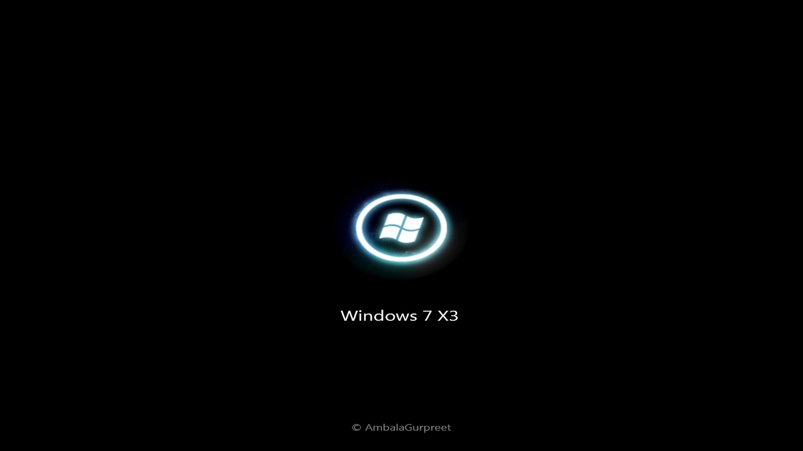 boot screen for windows 7 x3 ambalagurpreet
