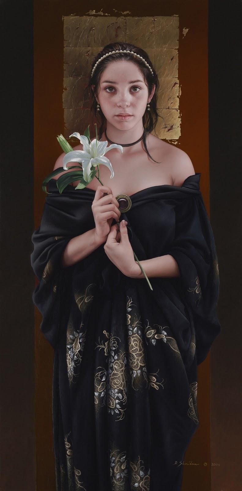 Duffy Sheridan 1947 | American Figurative pintor realista