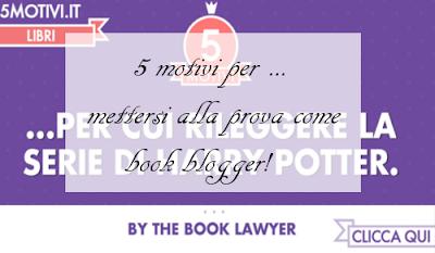 5 motivi per .. mettersi alla prova come book blogger!