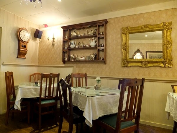 écosse scotland perth tearoom small talk