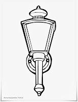 Mewarnai Lampu Delman