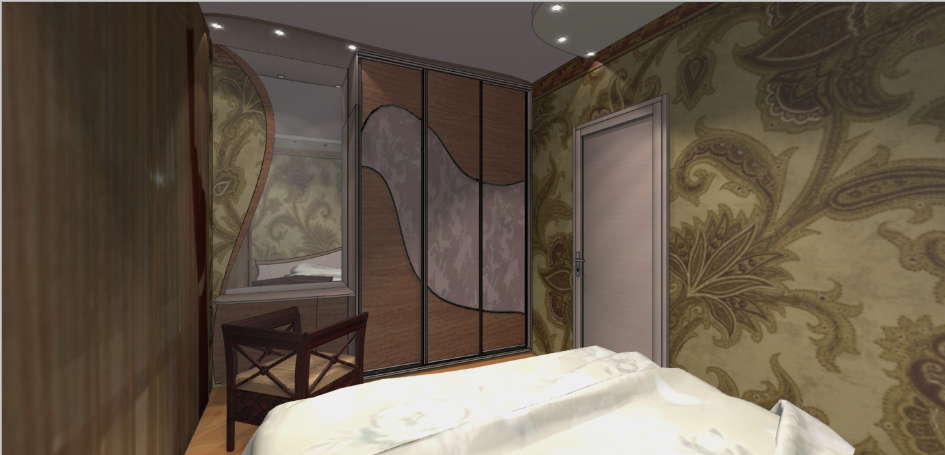 Интерьер мебели для хрущевок в комнату