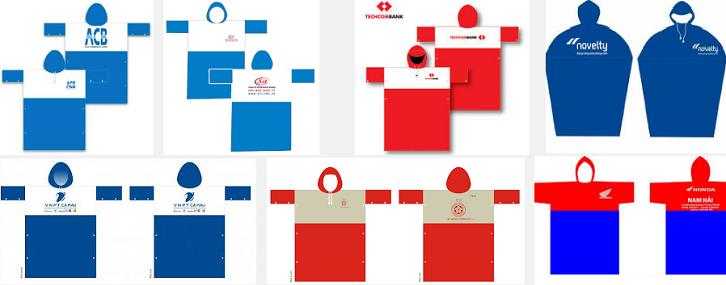 Cơ sở sản xuất áo mưa quảng cáo số lượng lớn giá rẻ nhất miền Bắc