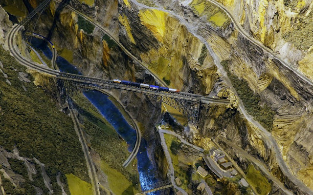 World's Largest Rail Model by Bruce Williams