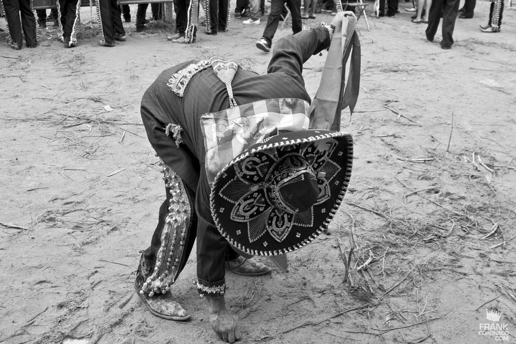 Viejote en fiesta tradicional de San Pedro Ixtlahuaca Oaxaca