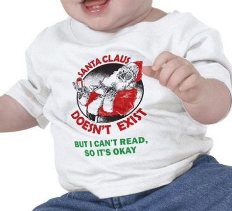 Santa Claus Doesn T Exist Baby Shirt Elite Funny