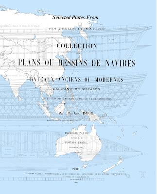 Souvenirs de Marine François-Edmond Pâris, French, navy, admiral, Francois-Edmund Paris, ship plans