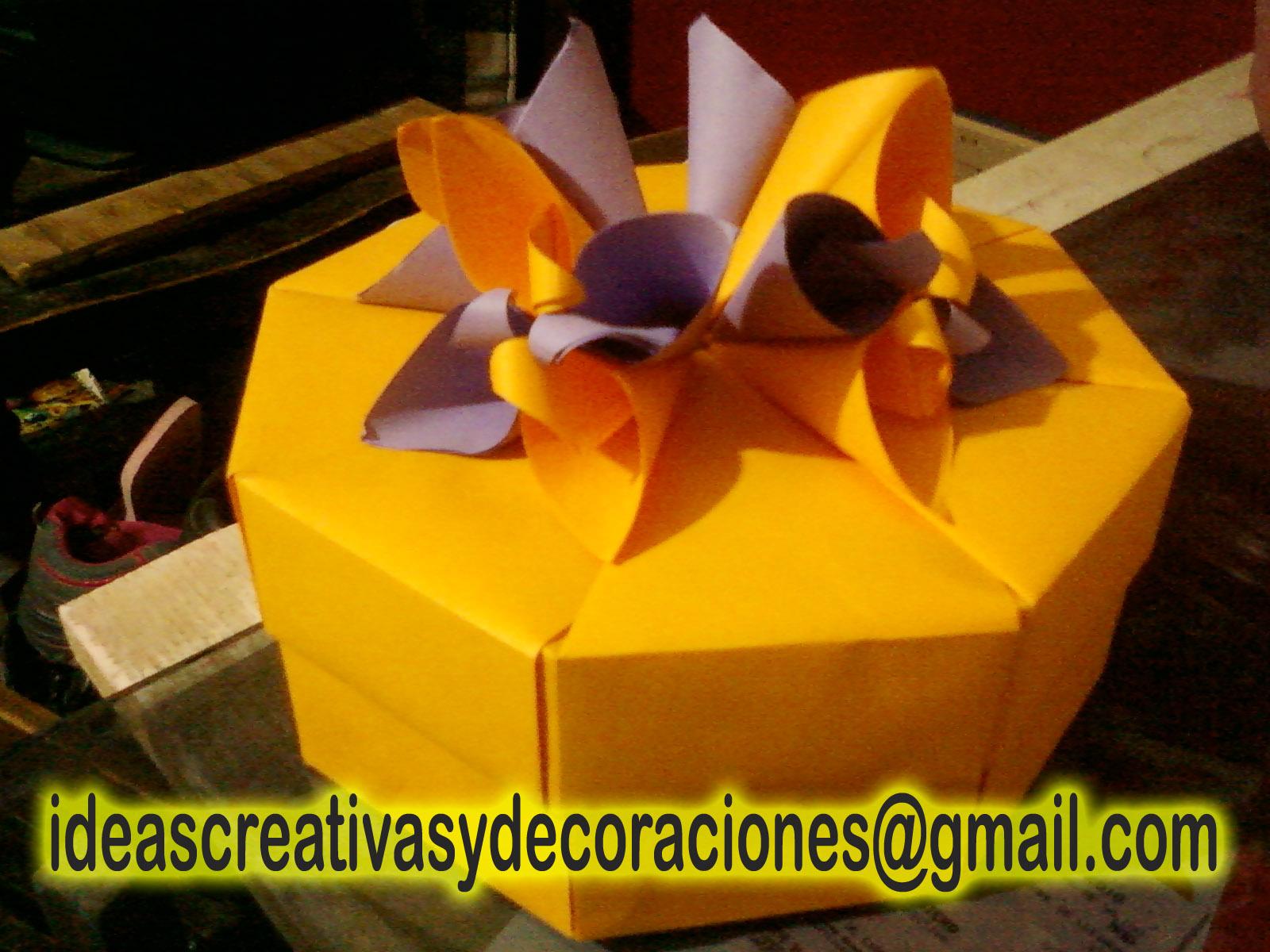 Cajas de papel para regalos asami design - Cajas forradas de papel ...