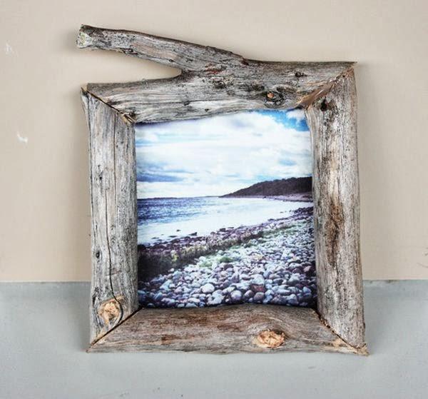 Как самим сделать рамку для фото на стену