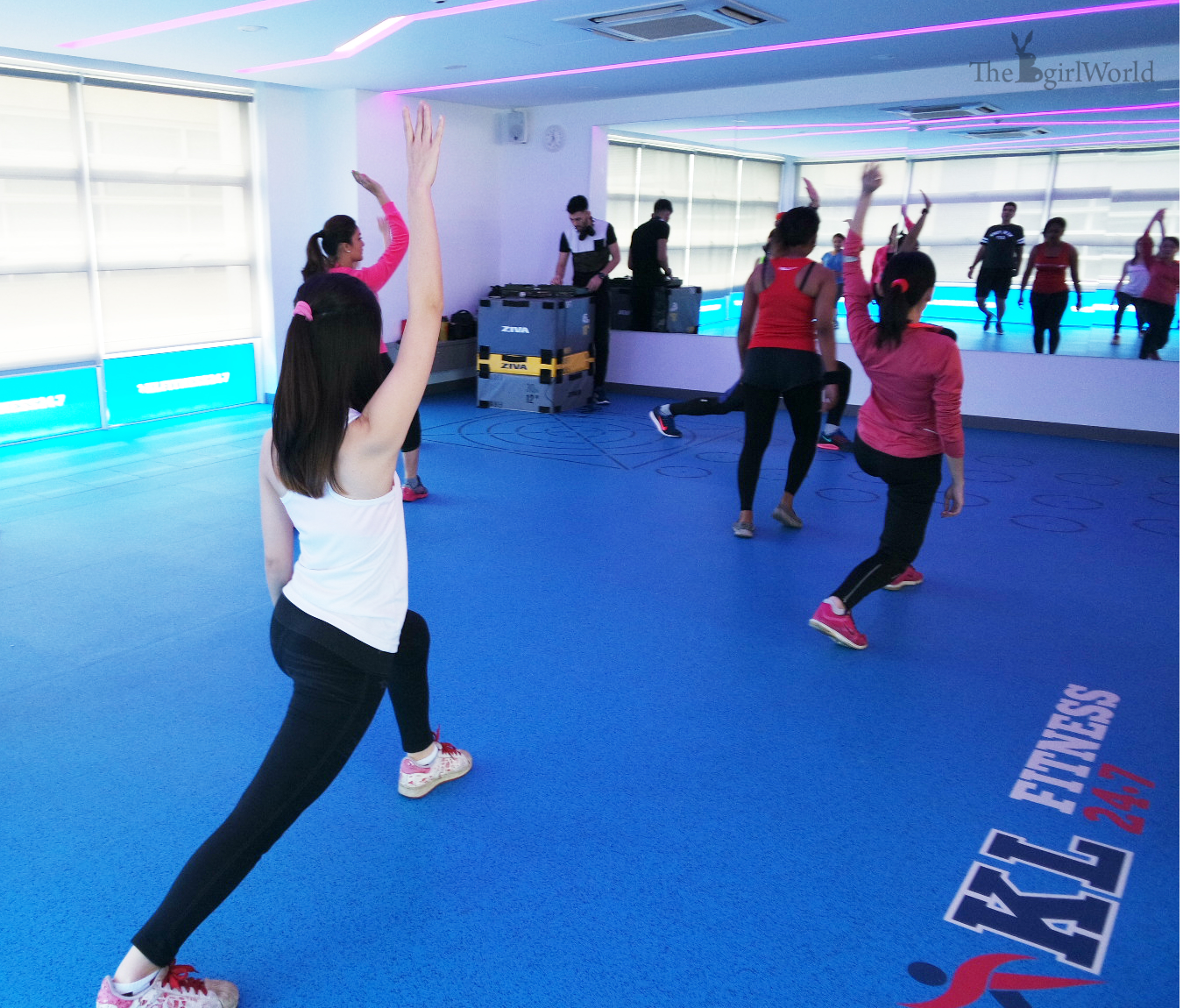 Grand opening of kl fitness ioi boulevard puchong