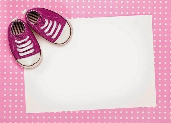 Tarjeta de agradecimiento para usar en el baby shower