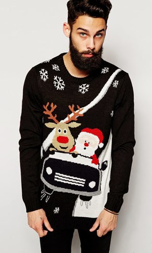 jerseys hombre Asos Navidad
