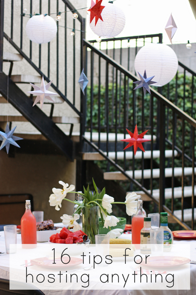 Realistic tricks for hosting parties stress-free