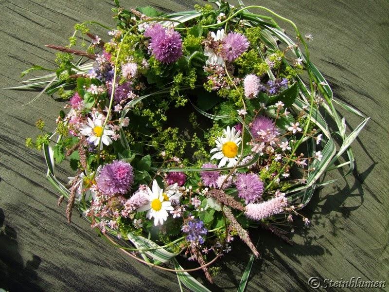 Anleitung Blumendeko